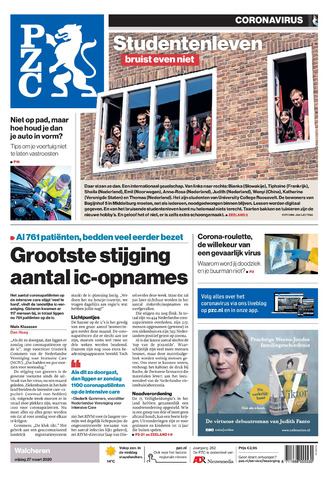 Provinciale Zeeuwse Courant 2020-03-27