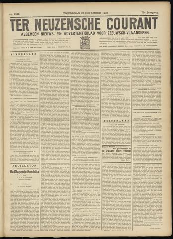 Ter Neuzensche Courant. Algemeen Nieuws- en Advertentieblad voor Zeeuwsch-Vlaanderen / Neuzensche Courant ... (idem) / (Algemeen) nieuws en advertentieblad voor Zeeuwsch-Vlaanderen 1932-11-23