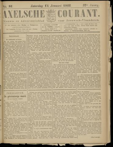 Axelsche Courant 1922-01-14