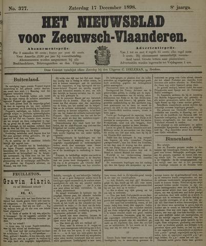 Nieuwsblad voor Zeeuwsch-Vlaanderen 1898-12-17