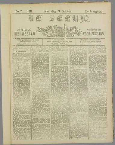 De Zeeuw. Christelijk-historisch nieuwsblad voor Zeeland 1911-10-09