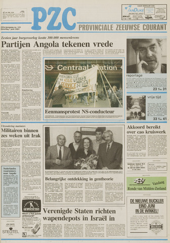Provinciale Zeeuwse Courant 1991-06-01