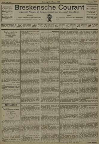 Breskensche Courant 1932-02-20