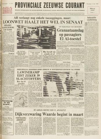 Provinciale Zeeuwse Courant 1970-02-11