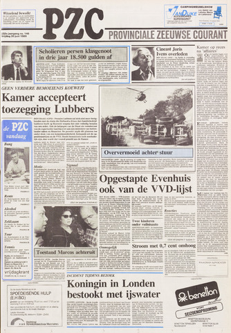 Provinciale Zeeuwse Courant 1989-06-30