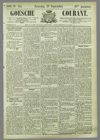 Goessche Courant 1906-09-29