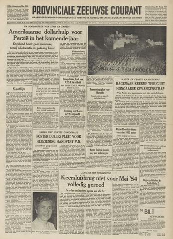 Provinciale Zeeuwse Courant 1953-08-27