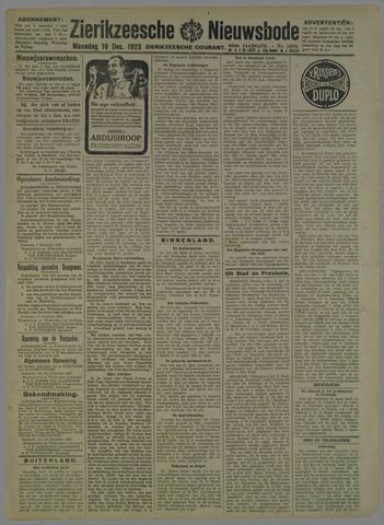 Zierikzeesche Nieuwsbode 1923-12-10