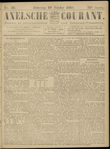 Axelsche Courant 1919-10-18