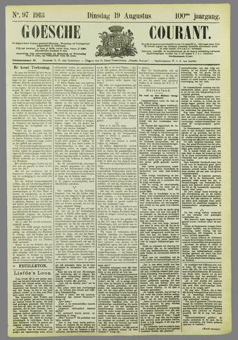 Goessche Courant 1913-08-19