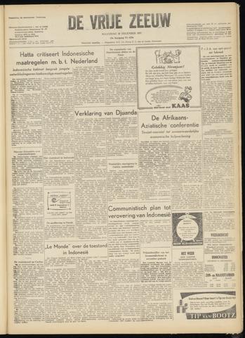 de Vrije Zeeuw 1957-12-30