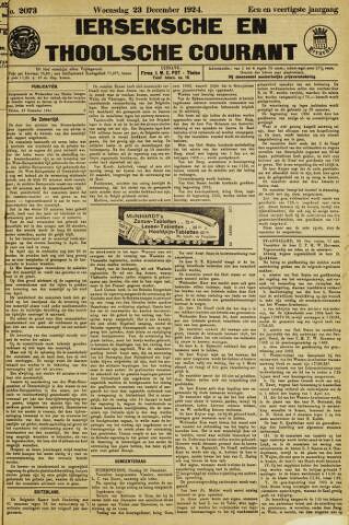 Ierseksche en Thoolsche Courant 1924-12-23