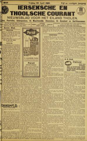 Ierseksche en Thoolsche Courant 1928-04-20