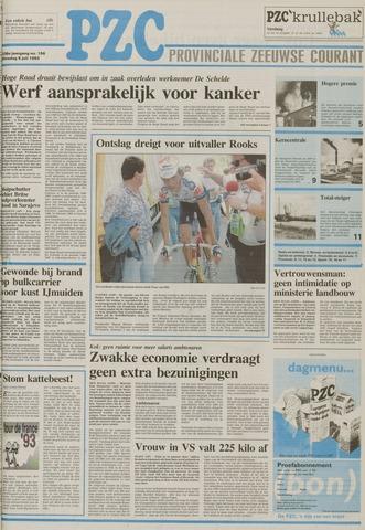 Provinciale Zeeuwse Courant 1993-07-06