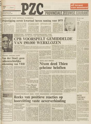 Provinciale Zeeuwse Courant 1975-04-10
