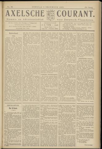 Axelsche Courant 1931-12-08
