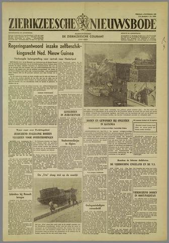 Zierikzeesche Nieuwsbode 1960-11-04