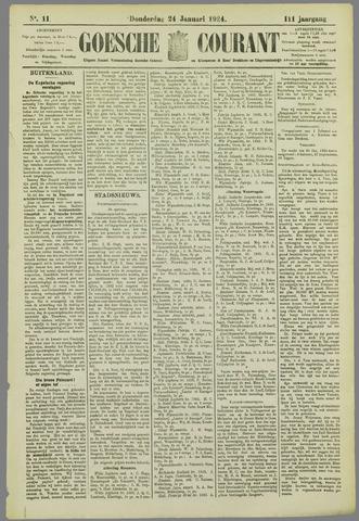 Goessche Courant 1924-01-24
