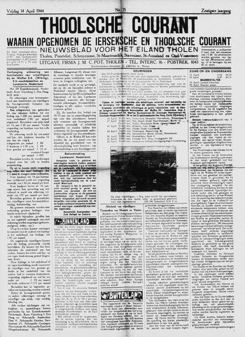 Ierseksche en Thoolsche Courant 1944-04-14
