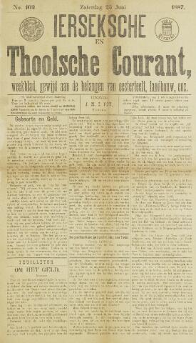 Ierseksche en Thoolsche Courant 1887-06-25