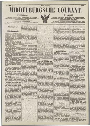 Middelburgsche Courant 1901-04-18