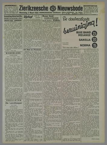Zierikzeesche Nieuwsbode 1932-03-02