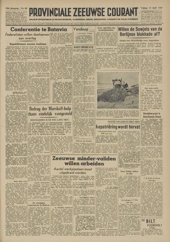 Provinciale Zeeuwse Courant 1949-04-15