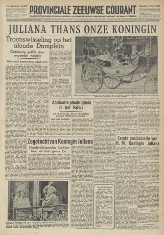 Provinciale Zeeuwse Courant 1948-09-06