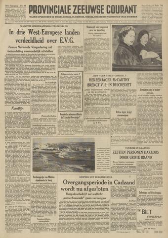 Provinciale Zeeuwse Courant 1954-02-25