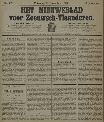 Nieuwsblad voor Zeeuwsch-Vlaanderen 1898-11-12