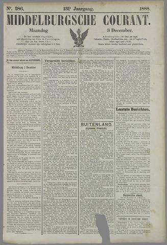 Middelburgsche Courant 1888-12-03