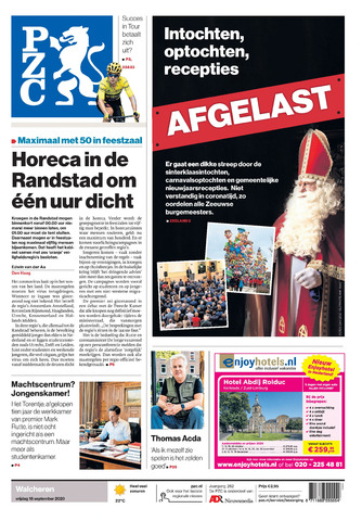 Provinciale Zeeuwse Courant 2020-09-18