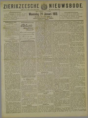 Zierikzeesche Nieuwsbode 1913-01-29