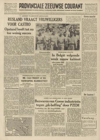 Provinciale Zeeuwse Courant 1961-04-20