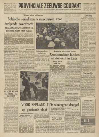 Provinciale Zeeuwse Courant 1961-01-04