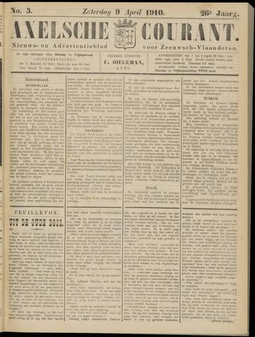 Axelsche Courant 1910-04-09