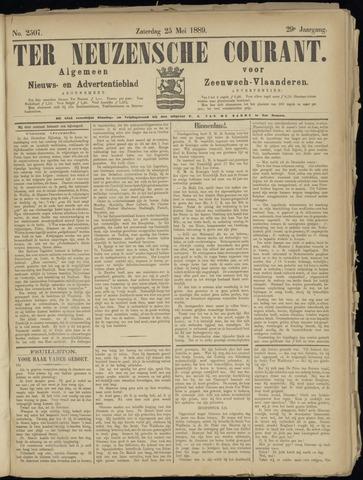 Ter Neuzensche Courant. Algemeen Nieuws- en Advertentieblad voor Zeeuwsch-Vlaanderen / Neuzensche Courant ... (idem) / (Algemeen) nieuws en advertentieblad voor Zeeuwsch-Vlaanderen 1889-05-25
