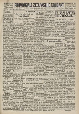 Provinciale Zeeuwse Courant 1946-10-16