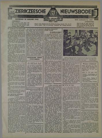 Zierikzeesche Nieuwsbode 1942-01-10