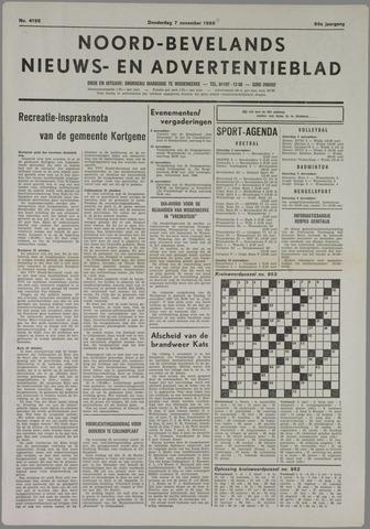 Noord-Bevelands Nieuws- en advertentieblad 1985-11-07