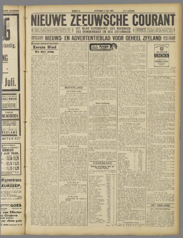 Nieuwe Zeeuwsche Courant 1925-07-04