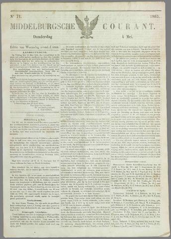 Middelburgsche Courant 1865-05-04