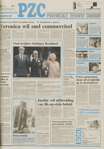 Provinciale Zeeuwse Courant 1991-06-24
