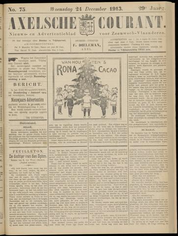 Axelsche Courant 1913-12-24