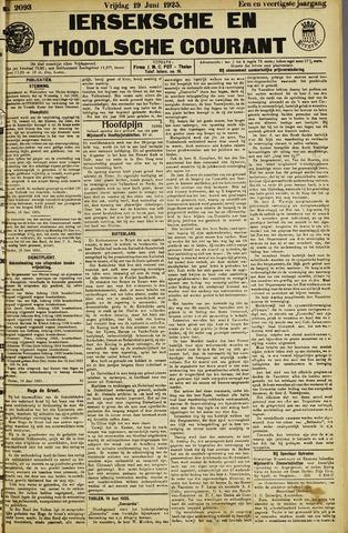 Ierseksche en Thoolsche Courant 1925-06-19