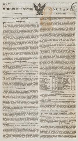 Middelburgsche Courant 1834-04-03