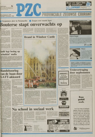 Provinciale Zeeuwse Courant 1992-11-21