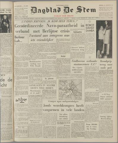 de Stem 1961-08-22