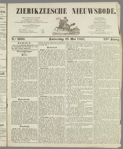 Zierikzeesche Nieuwsbode 1863-05-25