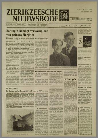 Zierikzeesche Nieuwsbode 1965-03-11